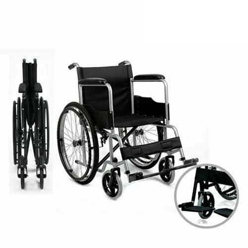 Wheelchair Being Folded up